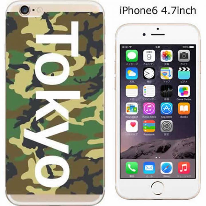 ハードケース iglno iglno. ボックスプリント(Tokyo)/カモフラージュ iPhone 6ケース