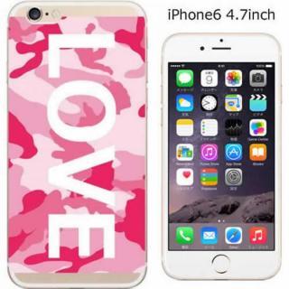 ハードケース iglno iglno. ボックスプリント(LOVE)/ピンク iPhone 6ケース