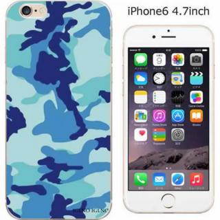 コーディネートカラーハードケース iglno iglno. カモフラージュ/ブルー iPhone 6ケース