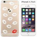 コーディネートカラーハードケース iglno iglno. 唇マーク ホワイト iPhone 6ケース