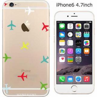 コーディネートカラーハードケース iglno iglno. Airplane カラフル iPhone 6ケース