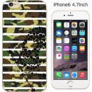 ハードケース iglno iglno. スカルボーダー迷彩 グリーン/ブラック iPhone 6ケース