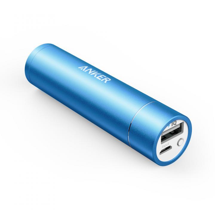[3350mAh]Anker PowerCore+ mini スティック型モバイルバッテリー ブルー_0
