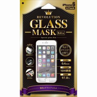 [0.40mm]前面完全カバー強化ガラス Revolution Glass MASK iPhone 6強化ガラス