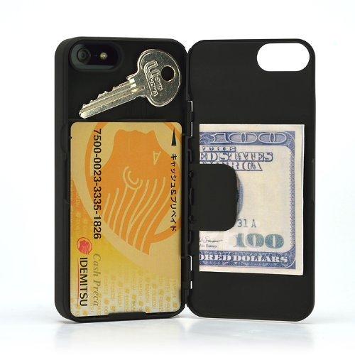 カード収納・マネークリップ機能搭載『iLID Wallet Case  iPhone SE/5s/5』