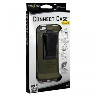 【iPhone SE/5s/5ケース】コネクトケース  iPhone 5 olive