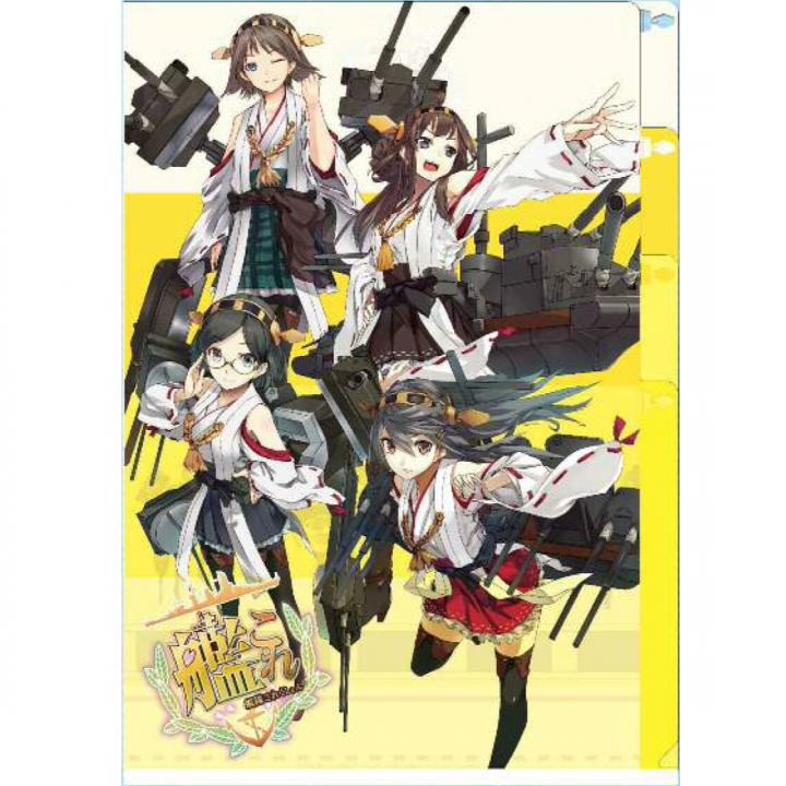 艦隊これくしょん-艦これ- 3ポケットクリアファイル_0