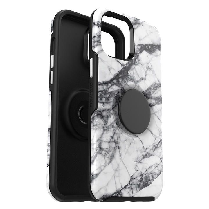OtterBox Otter + Pop Symmetry Graphics Series WHITE MARBLE iPhone 12 Pro Max_0