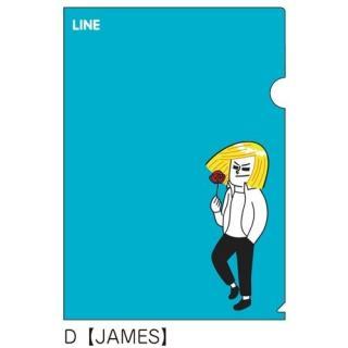 LINE クリアファイルD(ジェームズ)