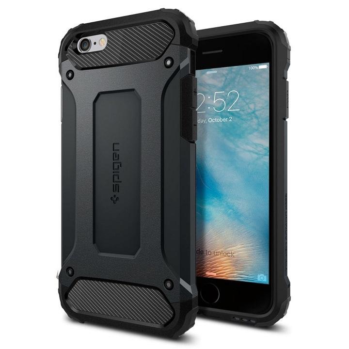 iPhone6s/6 ケース Spigen タフ・アーマー テック メタル・スレート iPhone 6s_0
