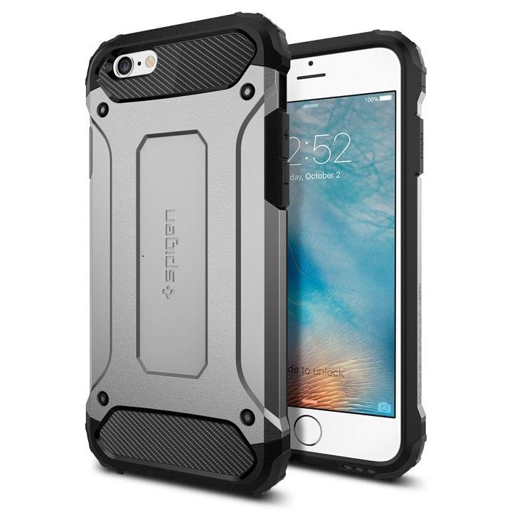 iPhone6s ケース Spigen タフ・アーマー テック サテン・シルバー iPhone 6s_0