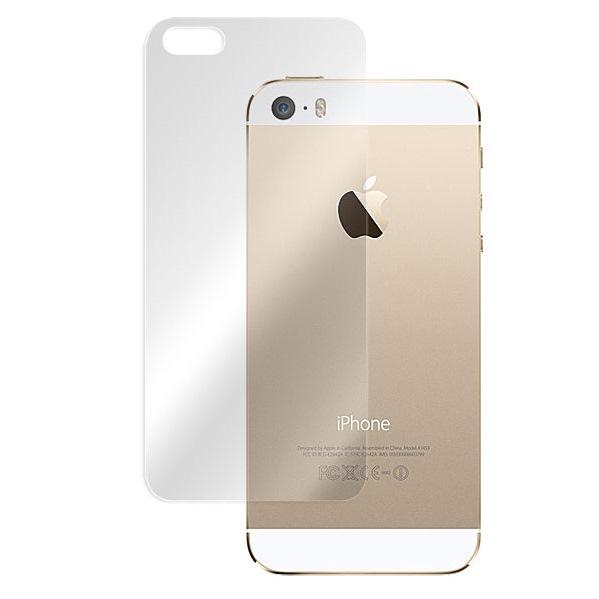 iPhone SE/5s/5 フィルム 3層構造で衝撃に強い背面フィルム OverLay Protector 高光沢タイプ iPhone SE/5s/5_0