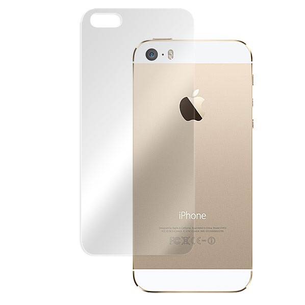 iPhone SE/5s/5 フィルム 3層構造で衝撃に強い背面フィルム OverLay Protector  iPhone SE/5s アンチグレアタイプ_0