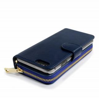 【iPhone6s/6ケース】お財布付き手帳型ケース Zipper ネイビー iPhone 6s/6ケース_2