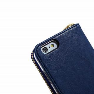 【iPhone6s/6ケース】お財布付き手帳型ケース Zipper ネイビー iPhone 6s/6ケース_3