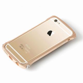 Deff Cleave アルミニウムバンパー Chrono ゴールド iPhone 6s/6バンパー