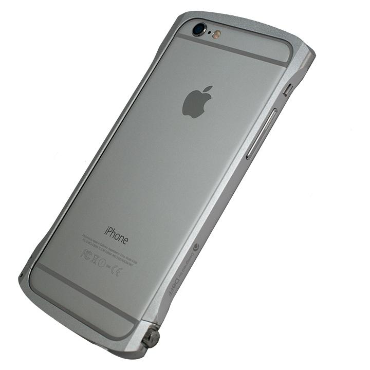 iPhone6s/6 ケース Deff Cleave アルミニウムバンパー Chrono シルバー iPhone 6s/6バンパー_0