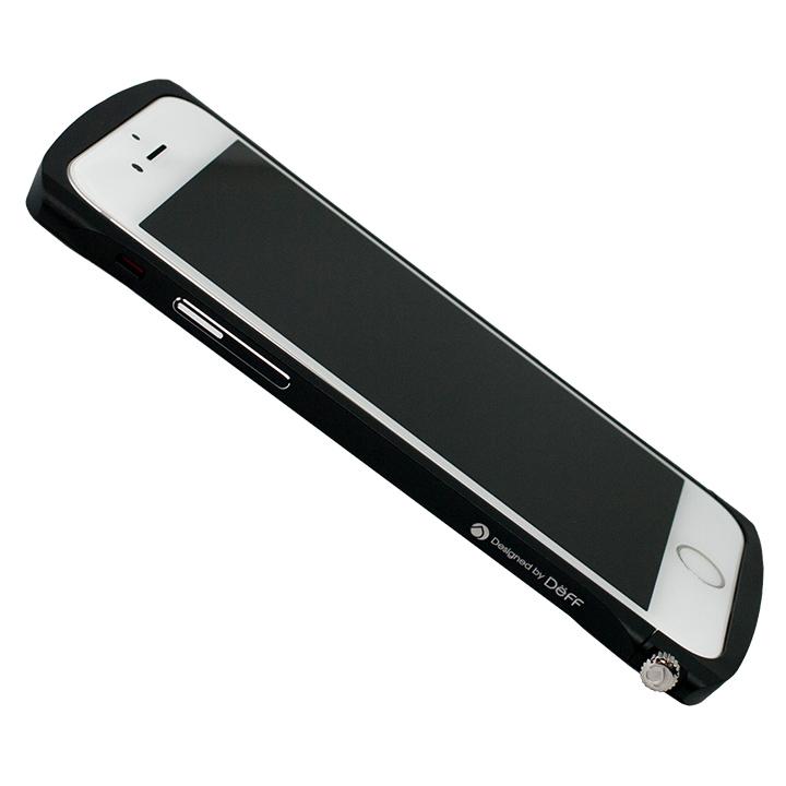 iPhone6s/6 ケース Deff Cleave アルミニウムバンパー Chrono ブラック iPhone 6s/6バンパー_0