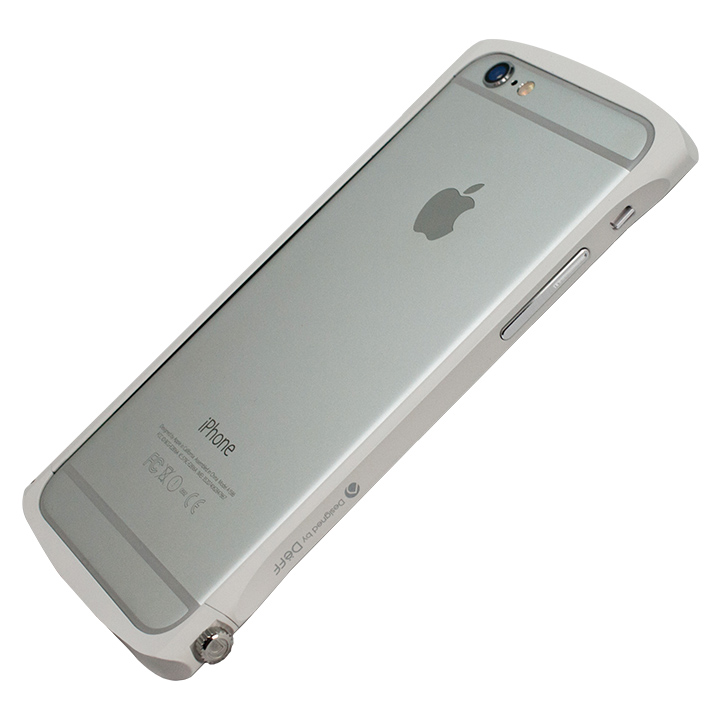 Deff Cleave アルミニウムバンパー Chrono ホワイト iPhone 6s/6バンパー