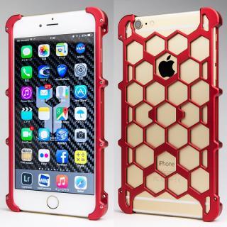 iPhone6s Plus/6 Plus ケース アルミ削り出し プロテクターケース レッド iPhone 6s Plus/6 Plus