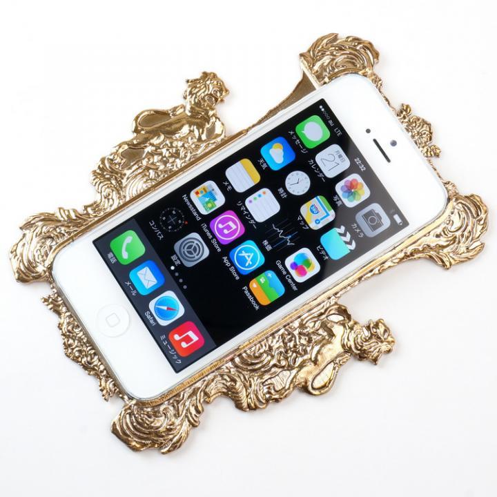 iPhone SE/5s/5 DRESSCAMP iPhone SE/5s/5用ケース 額縁金_0