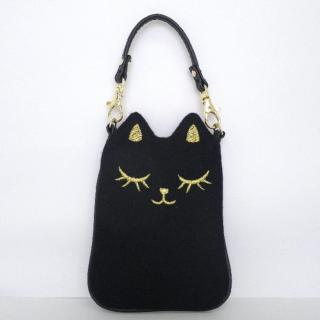 SMAPO(スマポ) ネコ(ブラック)