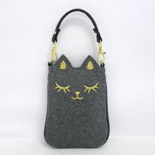 SMAPO(スマポ) ネコ(グレー)