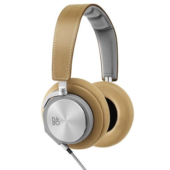 BeoPlay H6 オーバーイヤーヘッドフォン ナチュラルレザー