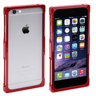 【iPhone8/7/6s/6ケース】RECTA アルミバンパーケース メタリックレッド iPhone 8/7/6s/6