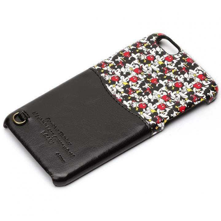 UNISTYLE ディズニーPUレザーケース ポケット付き ミッキーパターン iPhone 6s Plus/6 Plus