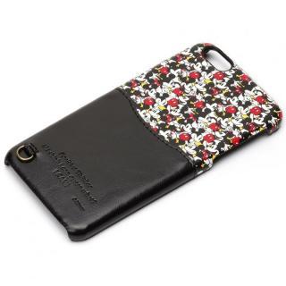 iPhone6s Plus/6 Plus ケース UNISTYLE ディズニーPUレザーケース ポケット付き ミッキーパターン iPhone 6s Plus/6 Plus
