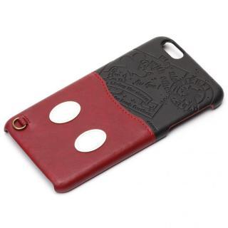 UNISTYLE ディズニーPUレザーケース ポケット付き ミッキーマウス iPhone 6s Plus/6 Plus
