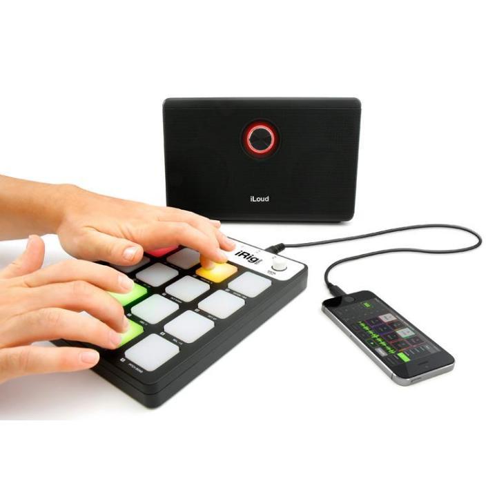 ポータブルMIDIパッドコントローラー IK Multimedia iRig Pads