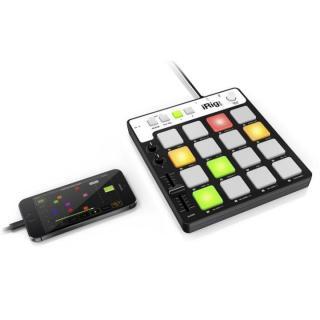 ポータブルMIDIパッドコントローラー IK Multimedia iRig Pads_1