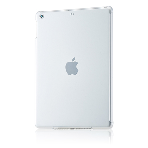 iPad Air用 抗菌スマートバックカバー(クリア)_0