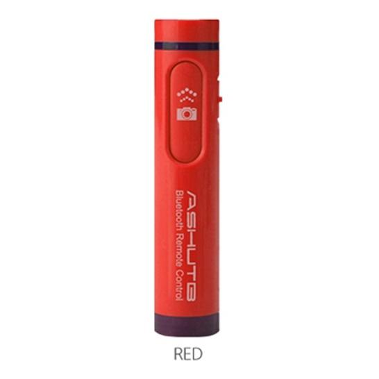 Bluetooth リモコンシャッター 簡単ペアリング AB4 レッド_0