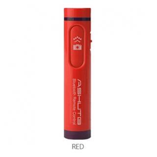 Bluetooth リモコンシャッター 簡単ペアリング AB4 レッド