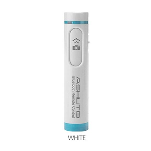 Bluetooth リモコンシャッター 簡単ペアリング AB4 ホワイト_0