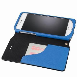【iPhone6s/6ケース】GRAMAS FEMME バッグタイプPUレザー手帳型ケース Sac ブルー iPhone 6s/6_3
