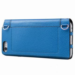 【iPhone6s/6ケース】GRAMAS FEMME バッグタイプPUレザー手帳型ケース Sac ブルー iPhone 6s/6_4