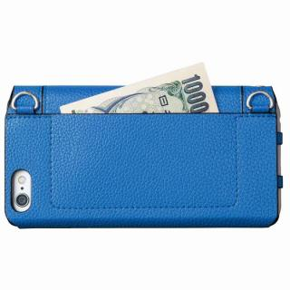 【iPhone6s/6ケース】GRAMAS FEMME バッグタイプPUレザー手帳型ケース Sac ブルー iPhone 6s/6_6