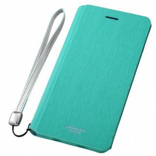 GRAMAS FEMME レザー手帳型ケース Colo ターコイズ iPhone 6s Plus/6 Plus