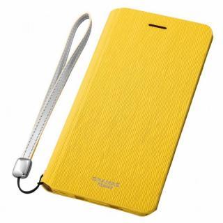 GRAMAS FEMME レザー手帳型ケース Colo イエロー iPhone 6s Plus/6 Plus
