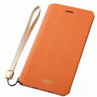 GRAMAS FEMME レザー手帳型ケース Colo オレンジ iPhone 6s Plus/6 Plus