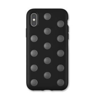 iPhone XS/X ケース AndMesh Layer Case 背面ケース ブラック iPhone XS/X
