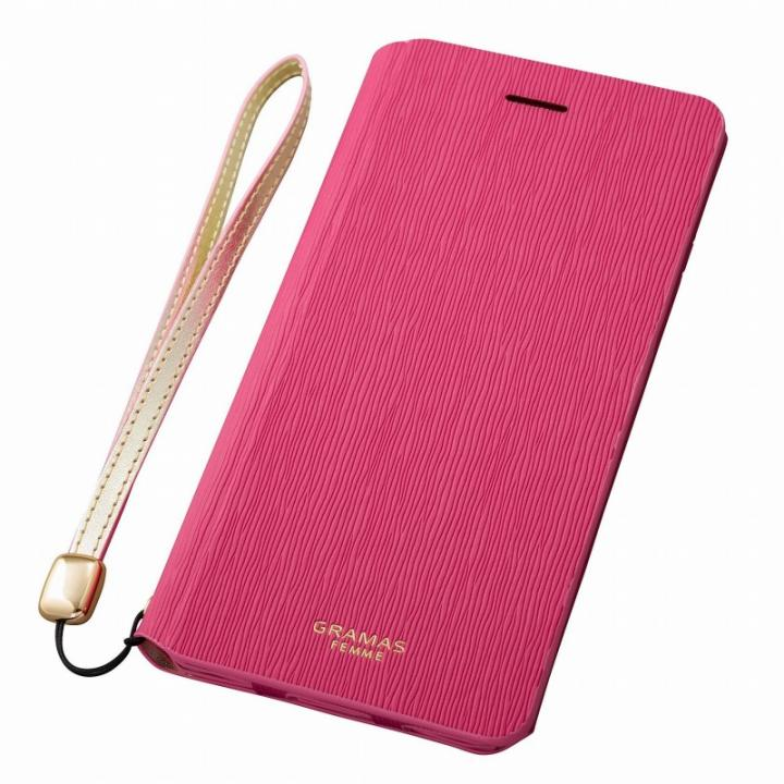 【iPhone6s/6ケース】GRAMAS FEMME レザー手帳型ケース Colo ピンク iPhone 6s/6_0