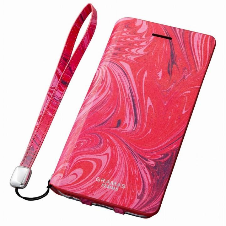 【iPhone6s Plus/6 Plusケース】GRAMAS FEMME レザー手帳型ケース Mab レッド iPhone 6s Plus/6 Plus_0