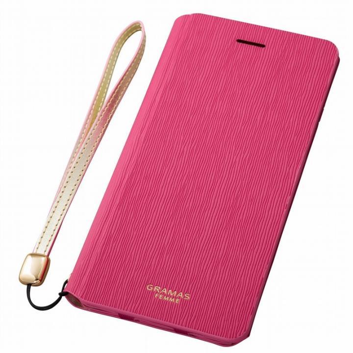 【iPhone6s Plus/6 Plusケース】GRAMAS FEMME レザー手帳型ケース Colo ピンク iPhone 6s Plus/6 Plus_0