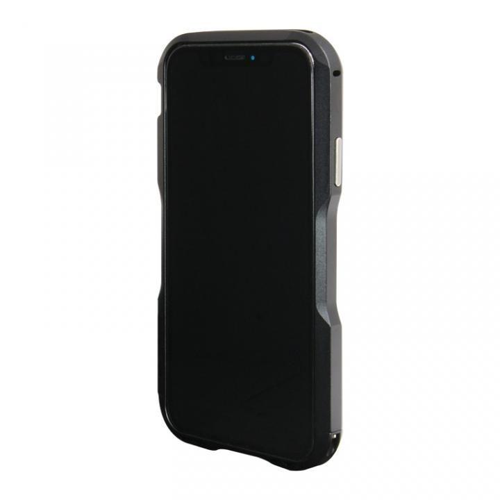【iPhone XS/Xケース】アルミニウムバンパー ブラック iPhone XS/X_0
