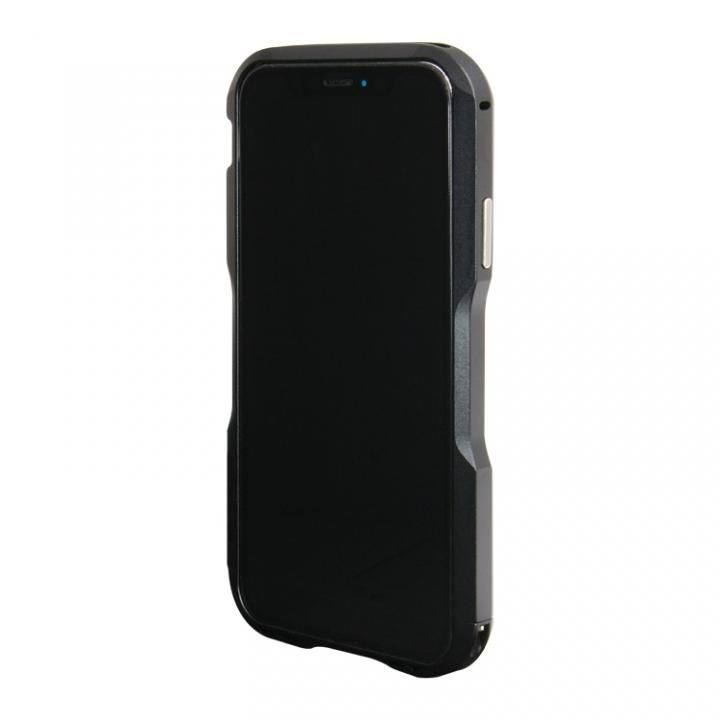iPhone XS/X ケース アルミニウムバンパー ブラック iPhone XS/X_0